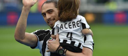 Caceres per amore della Juventus ha rifiutato l'offerta da 9 milioni di un club giapponese