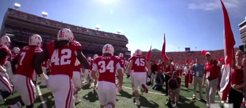 Nebraska is busy looking for quarterback commits [Image via Scotty K/YouTube screencap]