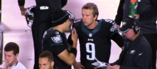 Nick Foles is expected to become a free agent during this offseason. - [Cinema Insiders / YouTube screencap]