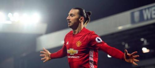 O jogador sueco Zlatan Ibrahimovic (Reprodução/Instagram/Manchester United)