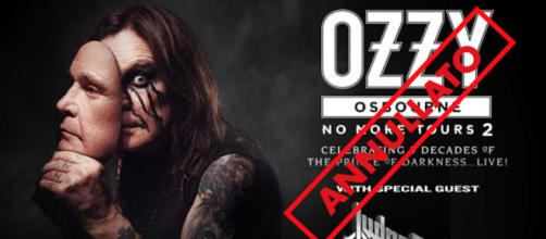 Ozzy Osbourne: ricoverato in ospedale