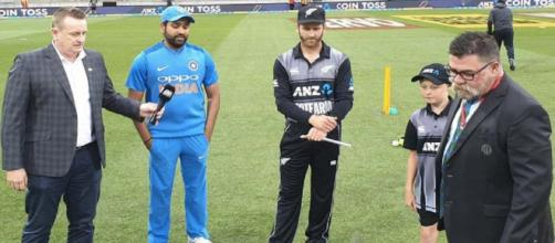 Rohit Sharma wins toss and fields again (Image via BCCI/Twitter)