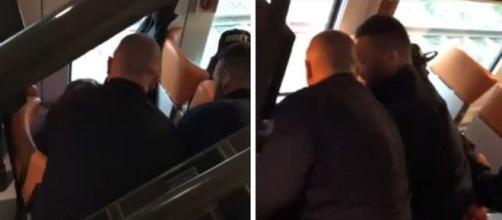Sconfinamento della polizia francese sui treni italiani
