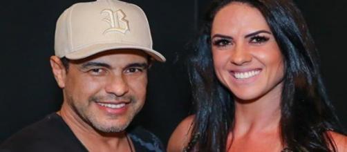 Zezé Di Camargo e Graciele Lacerda. (Foto/Instagram)