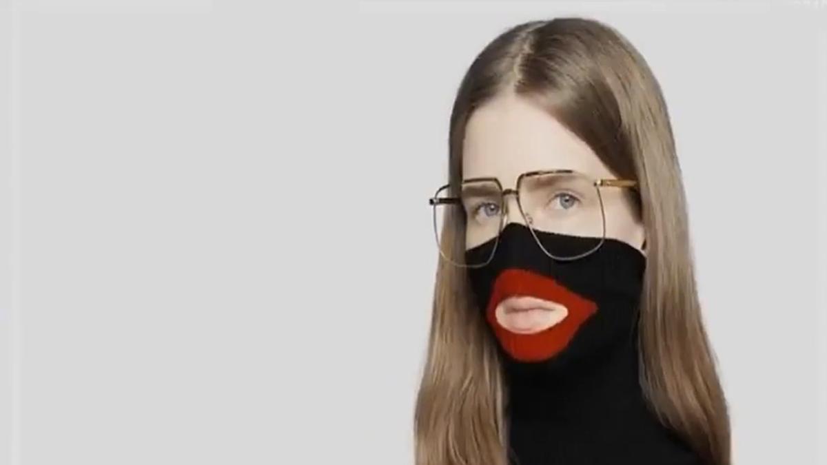 3a85975c303de Gucci withdraws balaclava polo neck jumper over blackface complaints