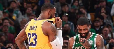 Kyrie Irving reveals how he feels about playing with LeBron again
