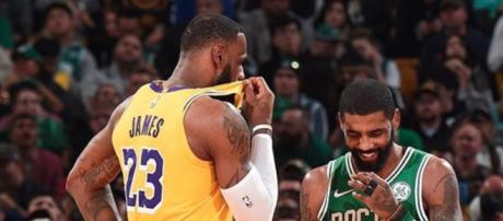131ff05886e Kyrie Irving spoke about teaming up with his former teammate LeBron James  again. - [