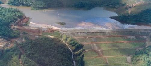 Barragem Sul Superior da mina Gongo Soco (Foto - Reprodução)