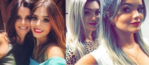 Elas são muito parecidas (Fotos - Instagram)