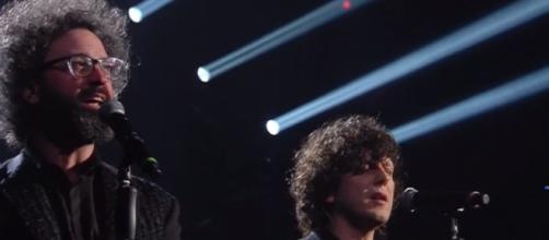 Ermal Meta e Simone Cristicchi duettano a Sanremo 2019