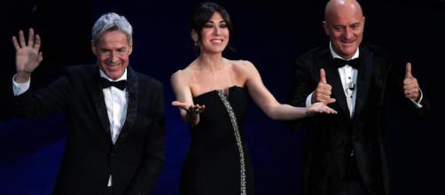 Fausto Leali fa irruzione sul palco di Sanremo