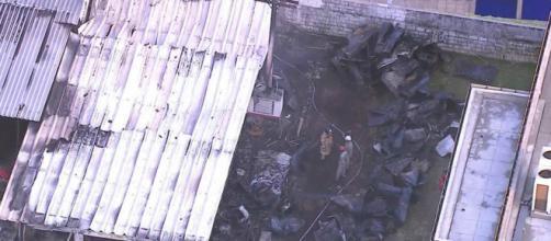 Incêndio no CT do Flamengo causou a morte de 10 pessoas (Reprodução)