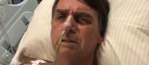 Presidente segue hospitalizado. Foto: Reprodução Twitter/Jair Bolsonaro