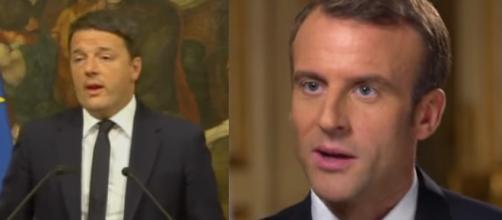 Renzi sta con Macron nello scontro Italia- Francia
