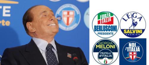 Silvio Berlusconi in Abruzzo per Marco Marsilio.