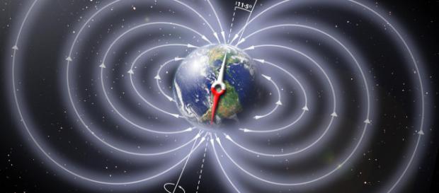 Il polo nord magnetico sta slittando.
