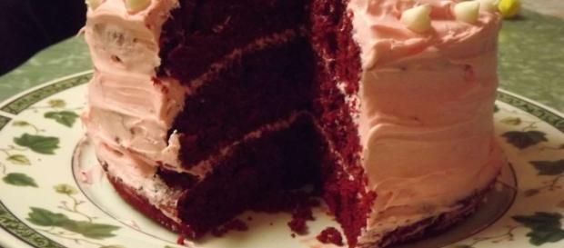 Ricetta torta Red velvet panna e mascarpone.