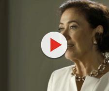 Valentina (Lilian Cabral) de O Sétimo Guardião (Reprodução/TV Globo)
