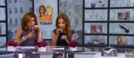 Hoda Kotb and Kathie Lee Gifford won't be doing commercials for the new Orange Vanilla Coke. [Image source-TODAY-YouTube]