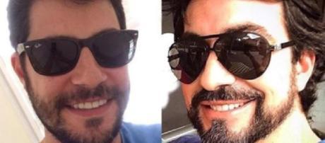 Padre Fábio e Evaristo Costa (Reprodução Instagram)