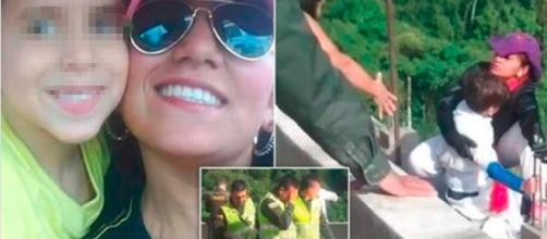 Colombia, madre si getta insieme al figlio di 10 anni da un ponte alto 100 metri, deceduti entrambi