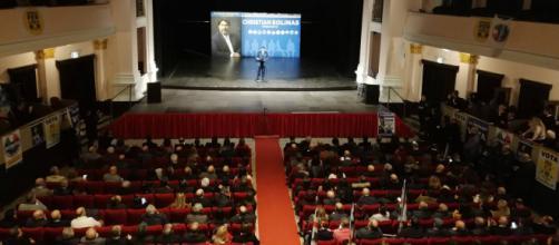 Sassari, centinaia di persone per Christian Solinas - Fonte: Pietro Serra