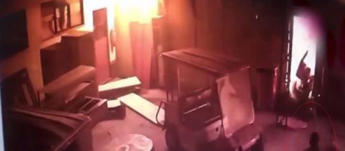 Video revela início do incêndio no CT do Flamengo (Reprodução YouTube)