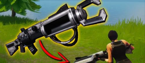 Zapotron is one of the strongest vaulted weapons in Fortnite. Credit: Dabacabb / YouTube