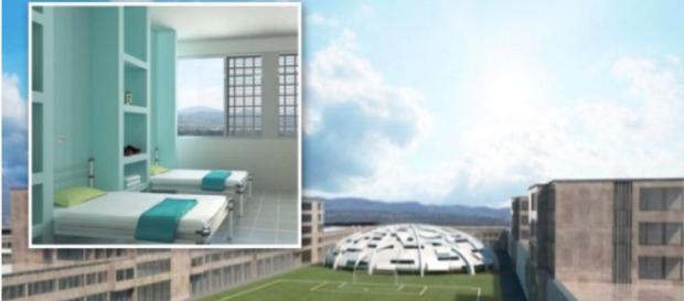Campania, forse nascerà un penitenziario senza sbarre e con campi sportivi (foto: Teleclubitalia)