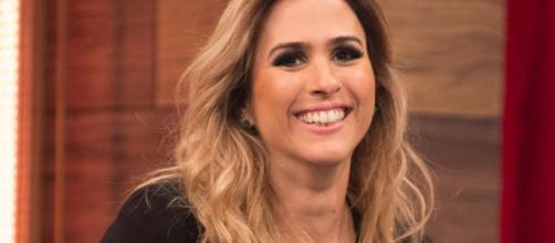 Apresentadora espera seu primeiro filho (Crédito: divulgação TV Globo).