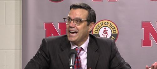Tim Miles career at Nebraska is closer to ending [Image via HuskerOnline Video/YouTube]