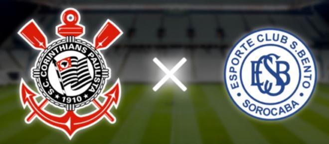 São Bento x Corinthians: PFC transmite o jogo ao vivo neste sábado, às 16h30