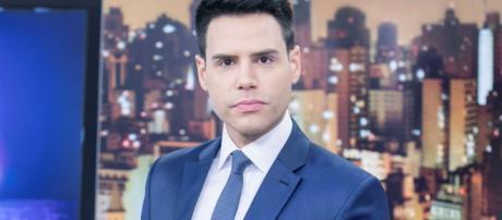 Luiz Bacci a frente do Cidade Alerta (Reprodução RecordTV)