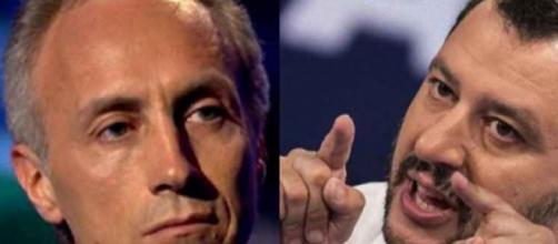 Marco Travaglio attacca Matteo Salvini sul Tav