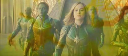 Marvel Studios' Captain Marvel - Trailer 2. [Image source/Marvel Entertainment YouTube video]