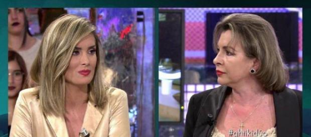 Candela y María José, en 'Sábado Deluxe'. / Telecinco