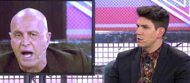 Diego Matamoros en 'Sábado Deluxe'. / Telecinco