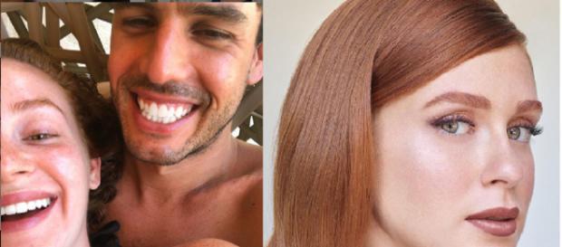 Marina Ruy Barbosa e seu marido Alexandre Negrão (Foto/Montagem: Instagram)