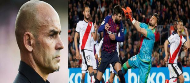 Paco Jémez analizó el partido entre el Rayo Vallecano y el Barça.