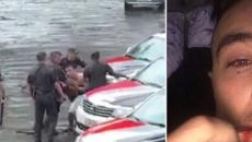 Vídeo flagra momento em que youtuber Guigo Kieras é agredido por PMs no Carnaval de SP
