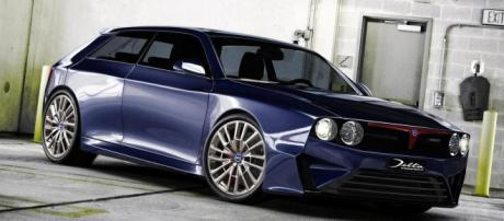 Lancia Delta HF Integrale concept digitally imagined - motor1.com