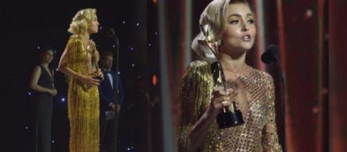 Angelique venceu o prêmio de melhor atriz (Imagem: Reprodução Instagram/TVyNovelas)