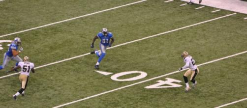 Calvin Johnson was one of the most dominant receivers during his time with the Lions. [Image Source: Flickr | Calvin Johnson]