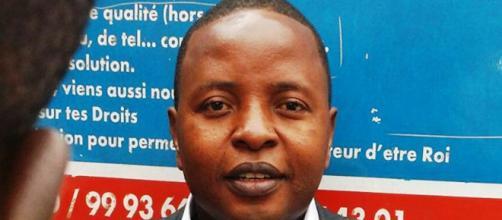 Le président de la LCC Delor Magellan Kamseu Kamgaing (c) Google