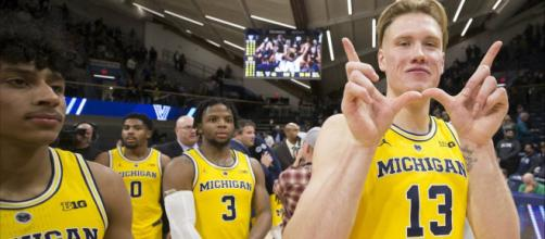 Michigan begins Big Ten tournament play on Friday, March 15. [Image via Click on Detroit/YouTube]