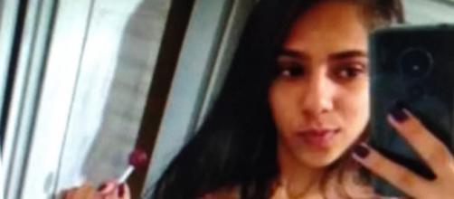 Rafaela Martins Cardoso, foi sequestrada em um ponto de ônibus, estuprada e assassinada em Águas Lindas de Goiás — Foto: Polícia Civil/Divulgação