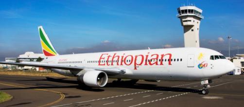 Un velivolo della flotta Ethiopian Airlines