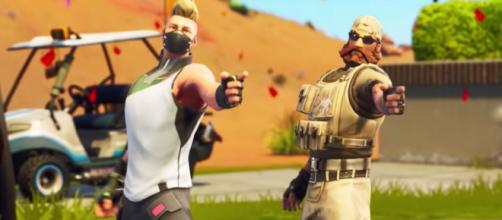 A new button is coming. - [Epic Games / Fortnite screencap]
