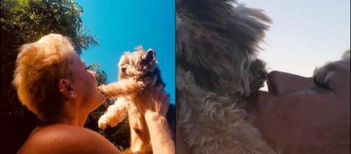 Xuxa e Duduzinho (reprodução Instagram Xuxa Meneghel)