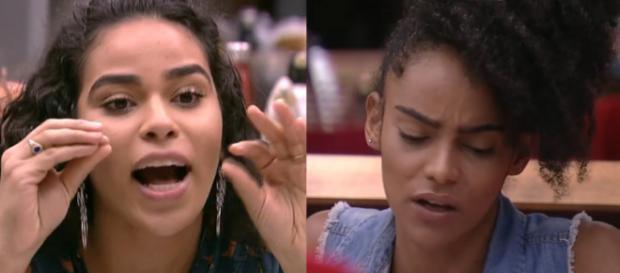 Elana e Gabriela discutem no BBB19 (Reprodução Gshow)